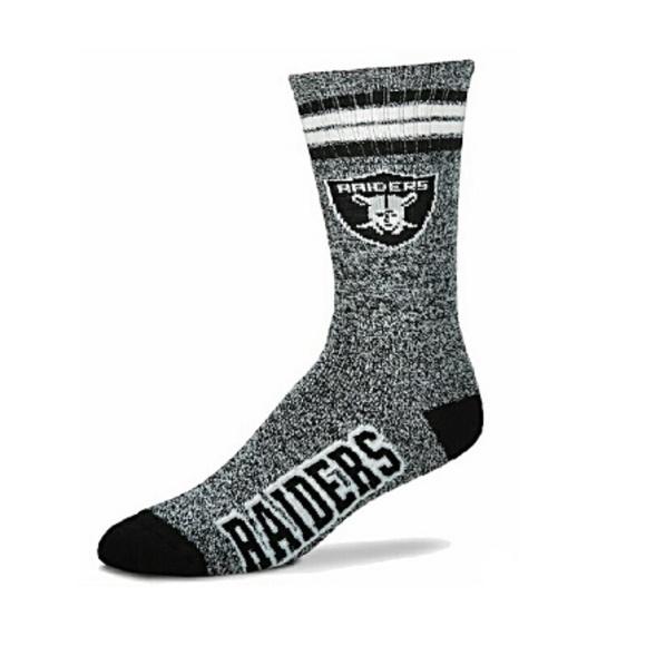 For Bare Feet Lotta-Stripe Mens Crew Socks Mens Seattle Seahawks